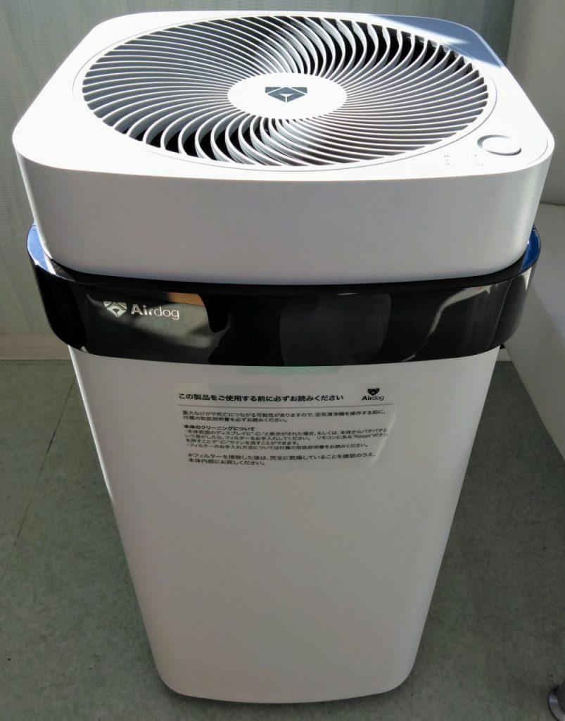 全店舗に空気清浄機を設置いたしました